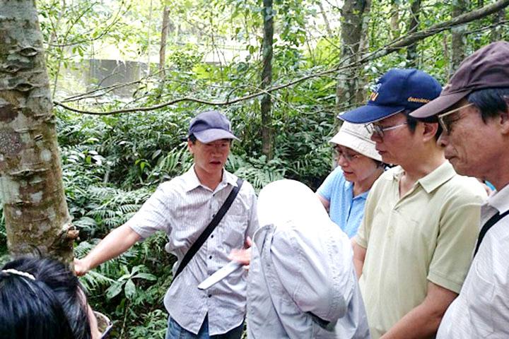 宜蘭大學實驗林場「人工林育林推廣研習」