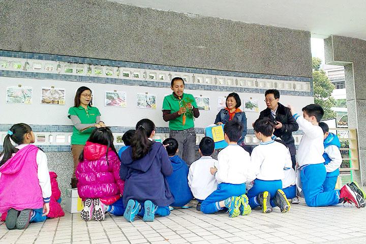 「小田園教育計劃」 輔導博愛國小為示範據點
