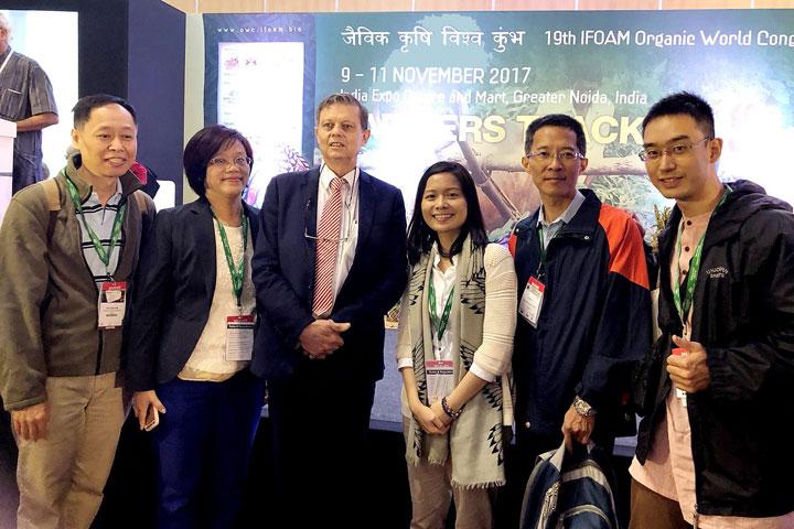 慈心基金會赴印參與IFOAM有機世界大會